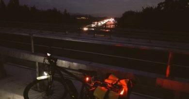 Fahrrad mit Licht