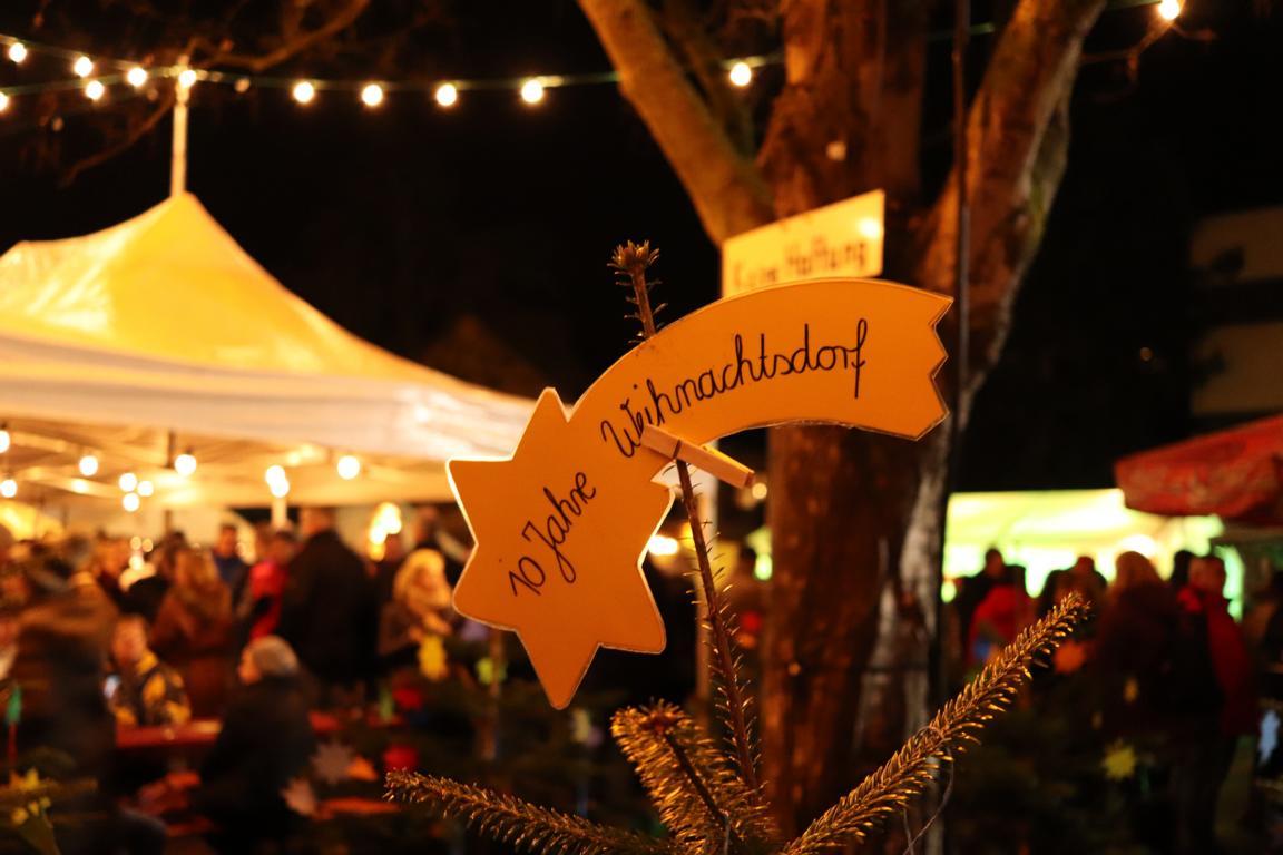 Weihnachtsdorf Schriesheim