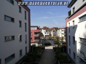 Burgen Weinheim Wachenburg und Windeck Fußweg von der Stadt