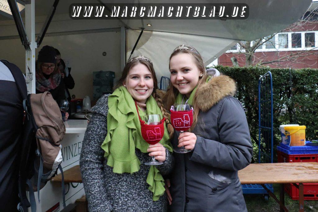 Weinprinzessinen Rotweinwanderung Schriesheim 2018