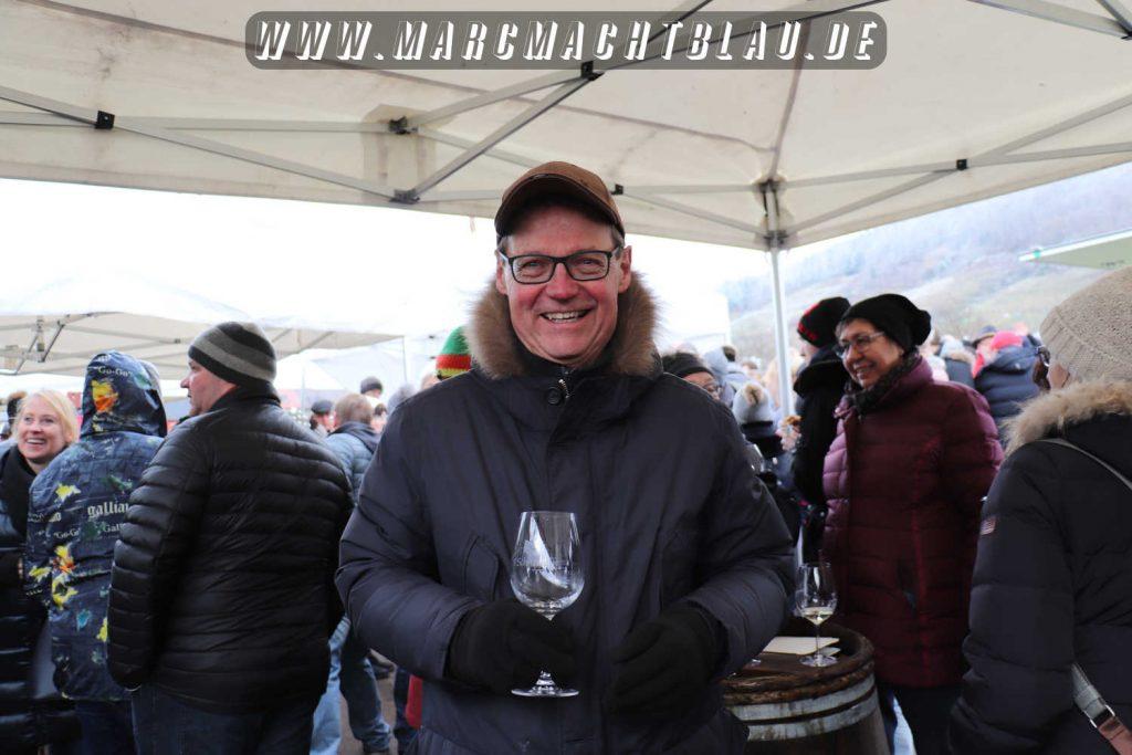 Bürgermeister Höfer Rotweinwanderung Schriesheim 2018