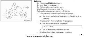 Launch control 790 Duke Update Anleitung