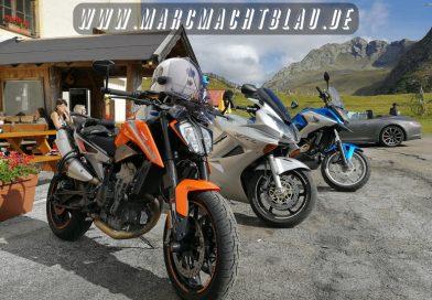 Motorradurlaub Südtirol mit der KTM 790 Duke, NC700S, NC750X, (Triumph Sprint GT) und VFR800F