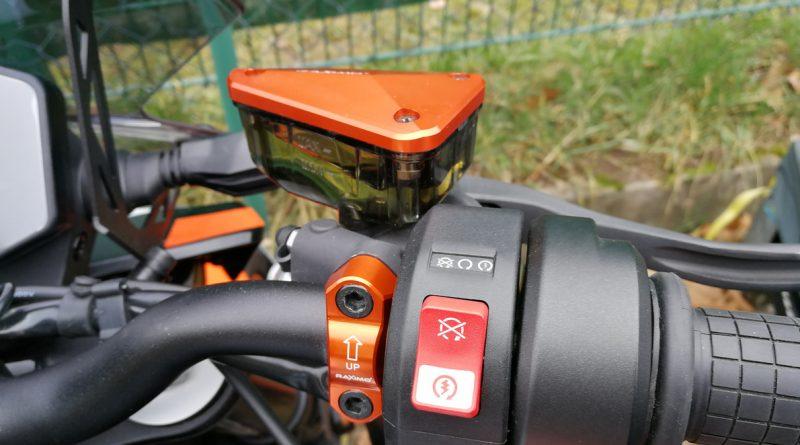 Raximo Bremsflüssigkeitsdeckel und Hebelhalter/ Hebelklemme/ Spiegelhalter