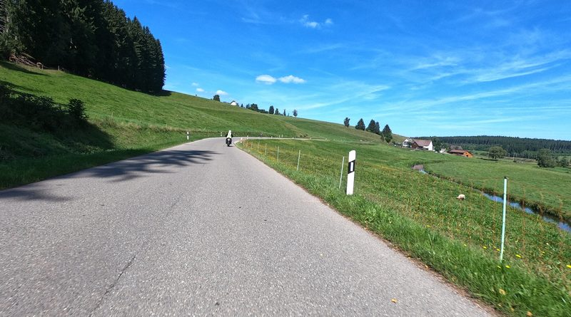 Durch den Schwarzwald mit dem Motorrad