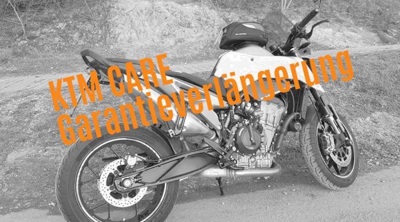 Garantieverlängerung KTM Care KTM 790 Duke