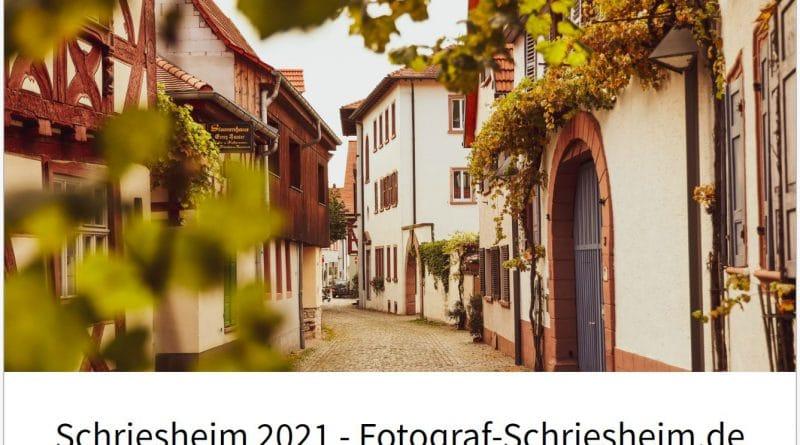 Schriesheim Kalender 2021